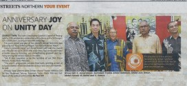 Anniversary Joy on Unity Day | New Straits Times (19 Februari 2014)
