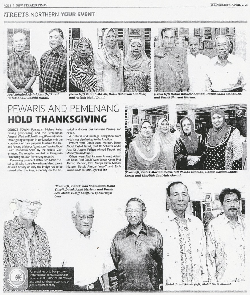 2 April 2014 - Pewaris and Pemenang hold thanksgiving-resize1000