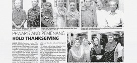 PEWARIS and PEMENANG Hold Thanksgiving | New Straits Times (2 April 2014)