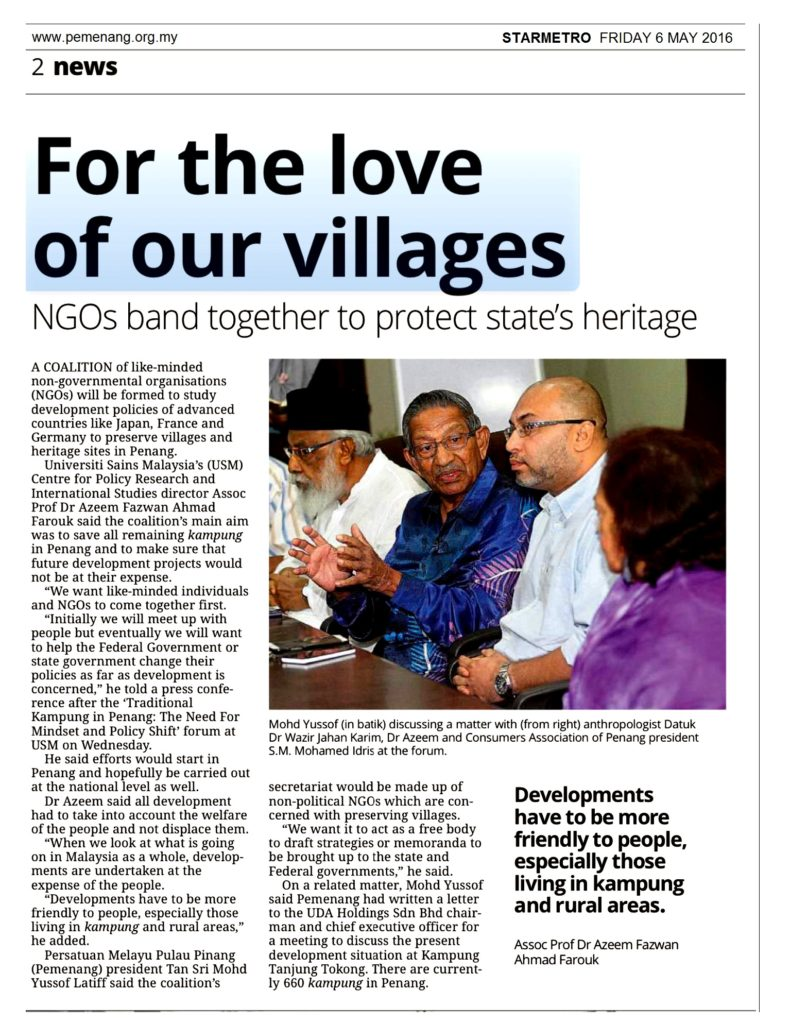 STARMETRO (NORTH) 6 MEI - FOR THE LOVE OF OUR VILLAGES - page 2